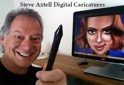 Steve Axtell Digital Caricatures
